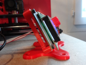 Stand for LCD screen Prusa i3 Hephestos