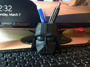 Vader Pencil Cup (Low-Poly)