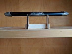 laser cut dagger stand