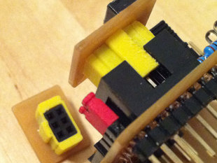 Parametric IDC-Socket Adaptor for Female Headers