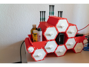 Hexagonal Drawers