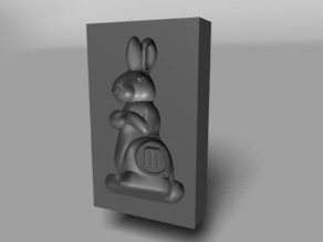 Chocolate MakerBot Bunny Mold