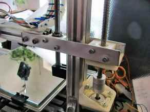 Z-axis for 3Drag/K8200 My solution: zero wobbling,  zero backslash, 4 options