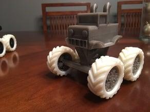 Remix Mini Monster Truck w/ Rotating Wheels