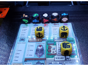 Fleet: The Dice Game - Boat & Town Dice