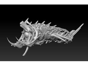 Undead Bone Ship