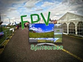 DIY FPV Splitscreen for Racing Events