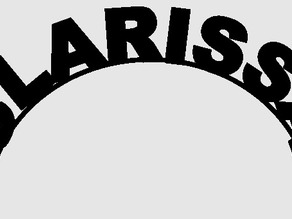 Clarissa name banner