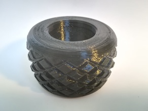 Knobbly Tire for OpenRC F1
