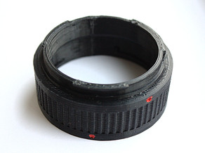 Canon EF extension tube set