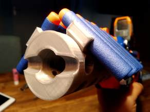 Nerf Stockade Nozzle (with 12 darts holder)