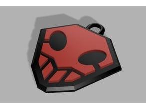 Hollow keychain (Bleach)