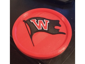 Whitworth University Coaster