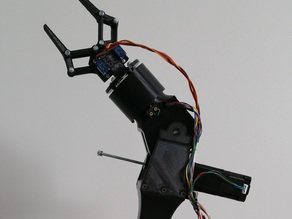 F.A.R.A (Four Axis Robotic Arm)
