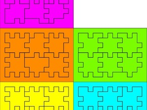 5 different box puzzles aka Happy Cubes