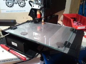 glass plate holder made for my printrbot