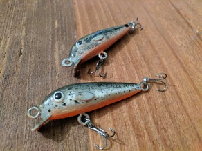 Shallow Diving Bass Lure