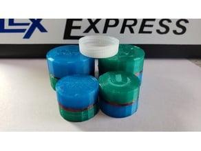 Ultra Round Medicine Container