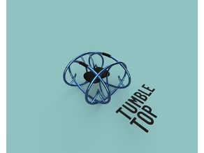 Teal Tumble Top