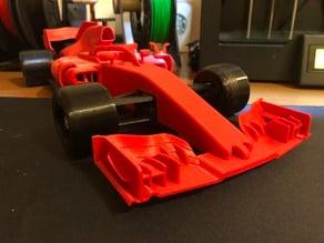 OpenRC F1 Safe front spoiler Ferrari SF71H style