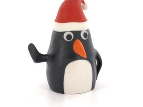 Christmas Linux penguin