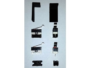 Parts for replacing the microswitches in Yamaha MSX slots