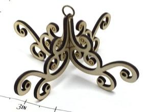 Lasercut Chandelier Ornament