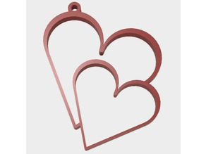 Valentine's Day - Hearts Keychain | Optional only Hearts