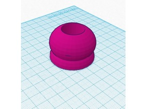Domey... the 3D printable candle holder!