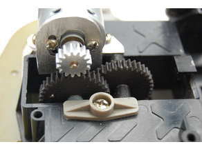 Vintage Holiday Buggy Gears and motor mount plan