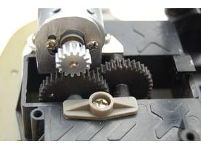 Tamiya vintage Holiday Buggy Gears and motor mount plan