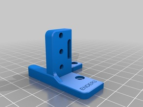 BL Touch mount for inverted X-axis