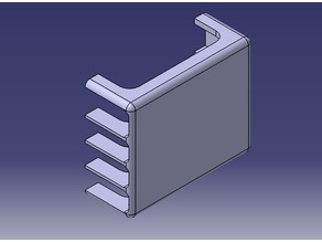 External HDD Base Structure