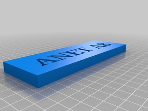 ANET A8 Sign