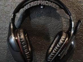 Headphone Holder 8 bit style.
