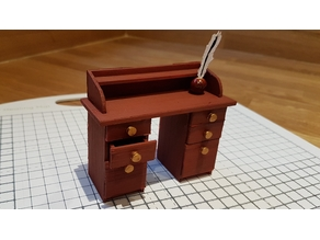 Dolls House Writing Bureau 1/12th Scale