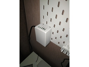 Raspberry Pi 3 B+ IKEA Skadis mount