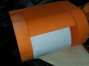 Toilet Paper Holder slide in slide out auto hold