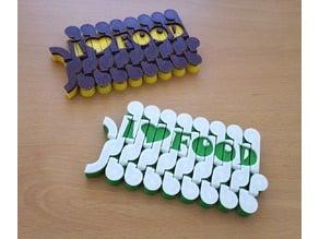 Foldable Plate Coaster