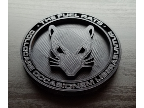 Elite Dangerous Fuel Rats Medallion