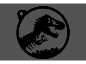 Jurassic Park T-Rex Logo