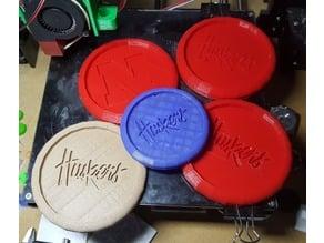 Nebraska Cornhusker Coasters