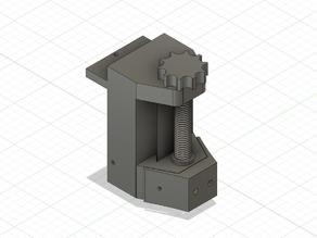 Z axis hand regulator for laser engraver cnc
