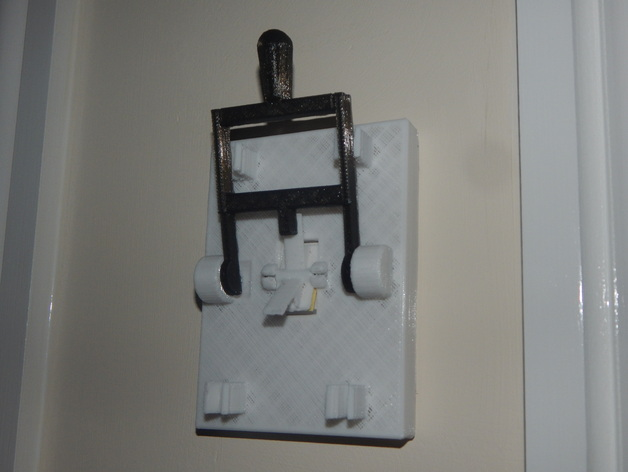 Frankenstein light switch for alternate style by