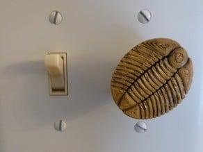 Trilobite dimmer knob