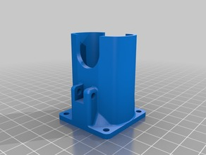 Prusa I3 Rework FAN-DUCT Upgrade Version 2 with Solidworks 2014 Source