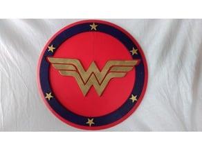 Wonder woman shield (DC super hero girls)