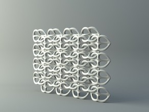 Net from pretzel-like parts 2