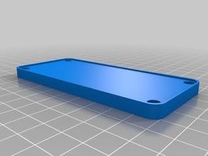 Vorlage für Blende CTC und andere 3D Drucker 45x100x6mm