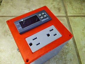 HomeBrew Temperature Contoller Box